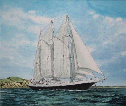 Eendracht, Nederlands zeilschip